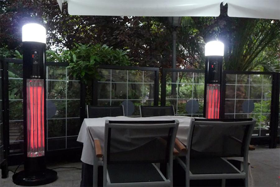 Инфракрасные обогреватели для летних открытых КАФЕ и ТЕРРАС Hügett Diana в Калининграде